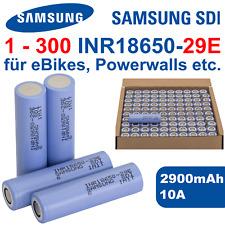Samsung INR18650-29E Akku - 2900mAh 10A für E-Bike Pedelec Werkzeug Powertools
