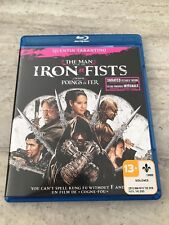 The Man with the Iron Fist Blu Ray Unrated Extended Edition