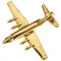 Vickers Viscount C53 Plane Fine English Modern Pewter on a Tie Clip slide