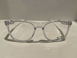 NEW OAKLEY OX8130-0352 TRILBE X CLEAR AUTHENTIC FRAMES RX EYEGLASSES 52-18