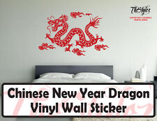 Chinese New Year Dragon Vinyl Wall Sticker