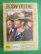 Rawhide (ft Clint Eastwood) 8Dvd- Complete Third / 3 Season