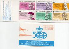 España : 1986 Edifil 2860 CARNET QUINTO CENTENARIO Nuevo ( MNH )