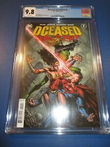 DCeased Dead Planet #2 CGC 9.8 NM/M Gorgeous Gem Wow
