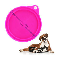 3pcs Tin Lids Can Covers For Dog Food Cat Random Color Safe Sealed Pet Supply
