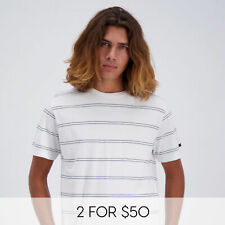 City Beach Rip Curl Plain Stripe T-Shirt