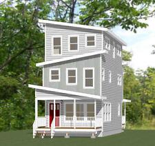 16x30 House -- 4 Bedroom 2.5 Bath -- 1,375 sq ft -- PDF Floor Plan -- Model 17A