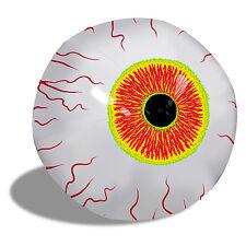 """Creepy Big 16"""" Inflatable Eyeball Halloween Haunted House Prop Zombie Eye Attic"""