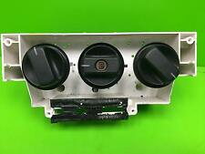 VAUXHALL AGILA Heater controls Mk1 (A) 00 01 02 03 04 05 06 07 08