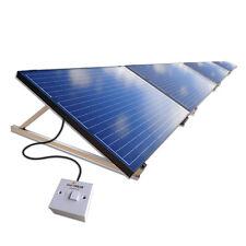 1kW 1000W Plug-In DIY Solar Panel PV Kit System Ground Mount Kit Garden/Patio