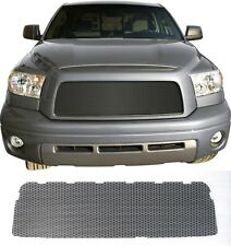 CCG PERF SS FLAT BLACK PRE-CUT MESH GRILL GRILLE FOR A 2007-2009 TOYOTA TUNDRA