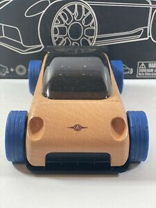 2007 Automoblox S9R Blue/Natural wood Wooden Toy Car