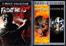 FRIDAY THE 13TH 10 MOVIE COLLECTION DVD 10 DISC SET REGION 1 NEW & SEALED!