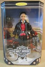 Harley-Davidson #1 Barbie Doll 1997 Limited Edition Black Leather Outfit New H1