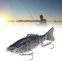 Luya mehrteiliger Fisch, Köder Seefischerei Luya-Simulationsköder harter X8A5