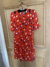 Asos maternity dress-Rojo-Lindo Patrón Floral-CORTAR HOMBROS - 10