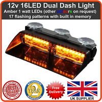 Emergency LED Dash Light Lightbar Recovery Strobe beacon (like Premier Hazard)