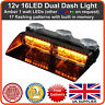 ENFORCER LED Flashing Dash Light 12v Lightbar Truck Recovery Strobe Amber beacon