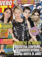 Vero Tv 2018 8.Amici-Maria De Filippi-Annalisa-Alessandra Amoroso-Emma Marrone