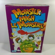 Monster Mash Board Game Parker Brothers 1987 100% Complete New in Box