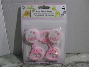 NEW BABYSHOWER FAVORS It's A BOY It's A GIRL PINK BLUE ***16 TO CHOOSE FROM***