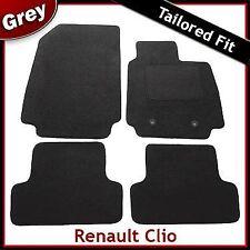 Renault Clio Tailored Carpet Car Mats GREY (2009 2010 2011 2012 ...)