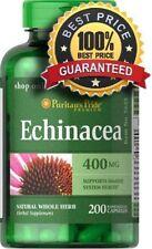 ECHINACEA fuerte 400 MG X 200 cápsulas sistema inmunológico saludable-envío 24HR