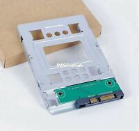 "US New HP 654540-001 2.5"" SSD to 3.5"" SATA Adapter Converter SAS HDD Tray Caddy"