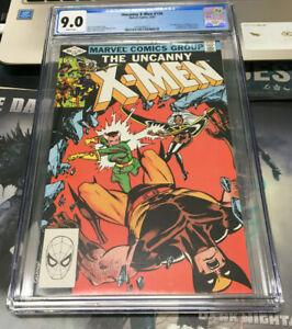 Uncanny X-Men #158 CGC 9.0 (1982) - Direct Edition - 1st app Rogue in title