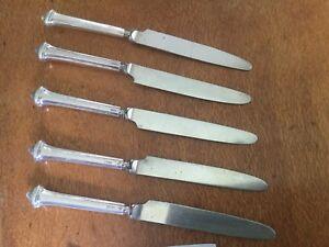 Sterling Sheffield Temple Pattern Knives