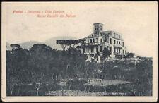 cartolina PORTICI bellavista-villa merlino,antico castello dei borboni