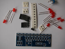 NE555+CD4017 Light-Water Flowing LED Electronics Kit Project UK SELLER