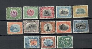 GUATEMALA  LATIN AMERICA  MINT  USED OLD UNCHECKED STAMPS 3$ LOT (GUAT 260)