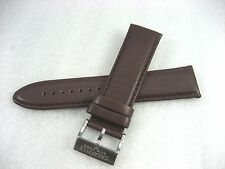 Leather Strap Men'S Watch 7.75 Inches Bulova Caravelle New York 43A128 Brown