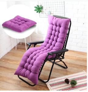Recliner Chair Cushion Deck Chair Cushion Seat Outdoor Indoor Furniture Decor