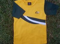 KIDS Australia SOCCER JERSEY FOOTBALL Available in sizes 6,8,10 and 12 NEW