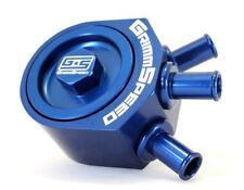 Grimmspeed Blue Air / Oil Separator for Subaru 05-09 LGT, 08-14 WRX, 09+ FXT