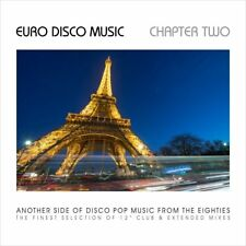 EURO DISCO MUSIC-CHAPTER TWO, DISCO POP MUSIC FROM THE 80´s   CD NEW!