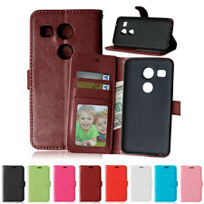 Phone Slot Flip Wallet Leather Case Cover For LG C40 Bello 2 Nexus 5X G5 C70 V10