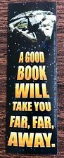 New! 18 Star Wars Bookmarks A Good Book Will Take You Far Far Away Party Rewards