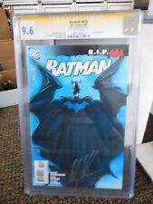 Batman 676 CGC SS signed Ross