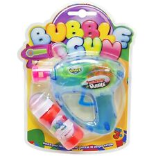 Bubble Gun Blower Shooter With Bubble Solution Birthday Party Bubbles Toy