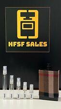 Burberry London for Men EDT Samples (2, 3, 5, 10ml) Glass Sprays!!!