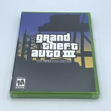 Grand Theft Auto Iii 3 (The Xbox Collection) Brand New Sealed Original Xbox