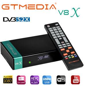 GTMEDIA V8X HD Tivusat Decoder Satellitare DVB-S2/S2X Ricevitore Wifi LCN HEVC