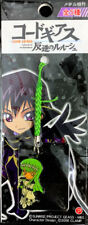 Code Geass C.C. Metal Netsuke Phone Strap Anime Manga Rare