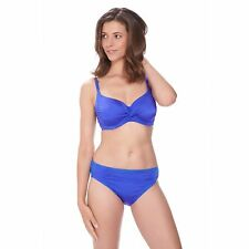 FANTASIE LOS CABOS COBALT UNDERWIRE TWIST BIKINI TOP & BRIEF SET SIZE 30E / 8E