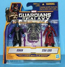 HASBRO GUARDIANS OF THE GALAXY MINI Action Figure RONAN AND STAR LORD