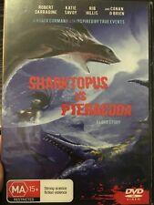 Sharktopus Vs. Pteracuda region 4 DVD (2010 sci-fi monster movie)