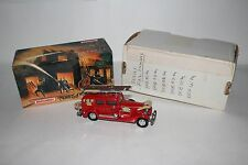 MATCHBOX MODELS OF YESTERYEAR FIRE ENGINE SERIES 1933 CADILLAC FIRE WAGON, YFE03